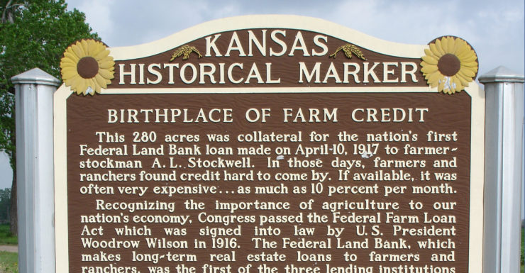 Farm Credit Historical Marker